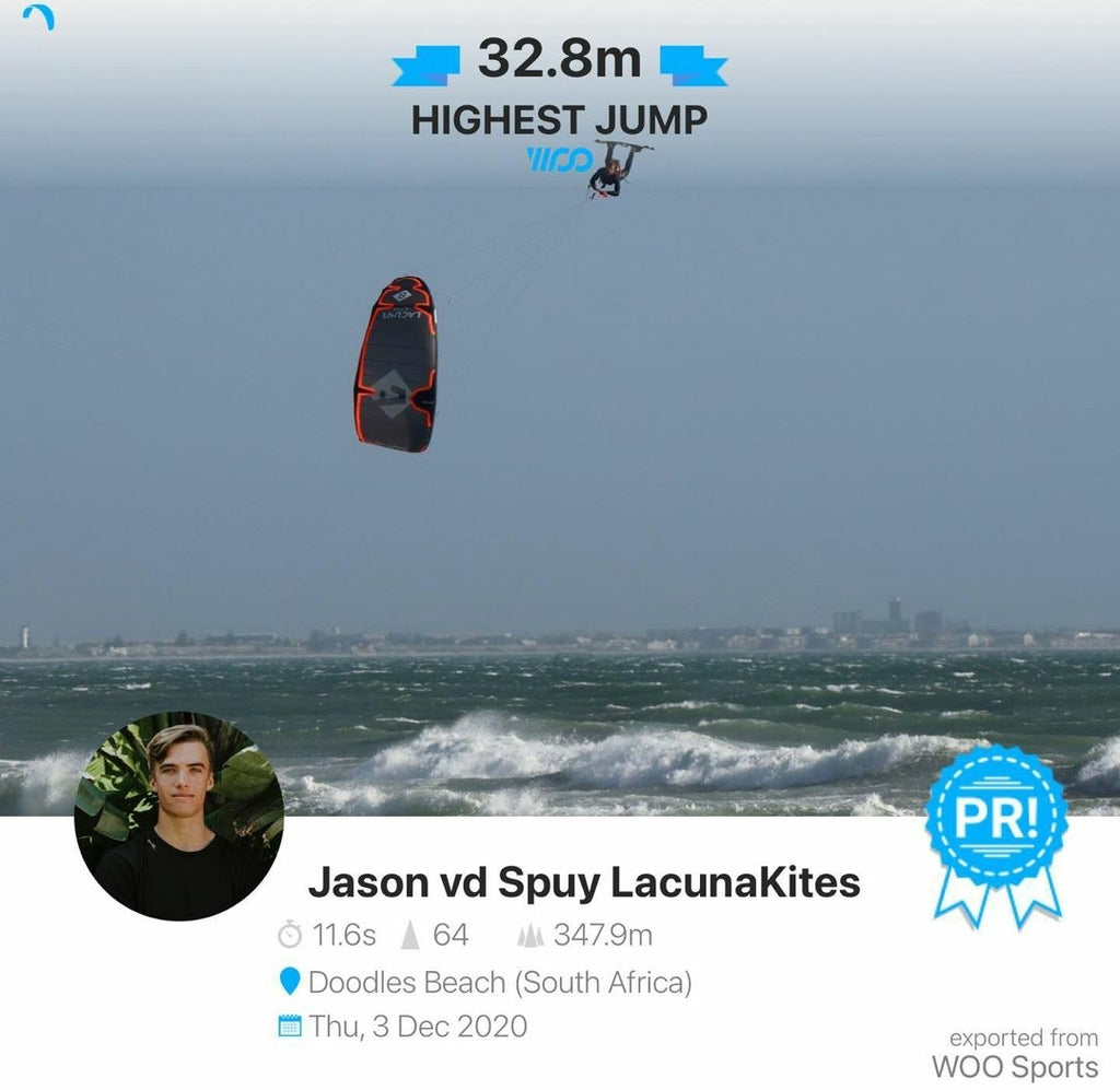 Congratulations Jason on 30m+ WOO Jump