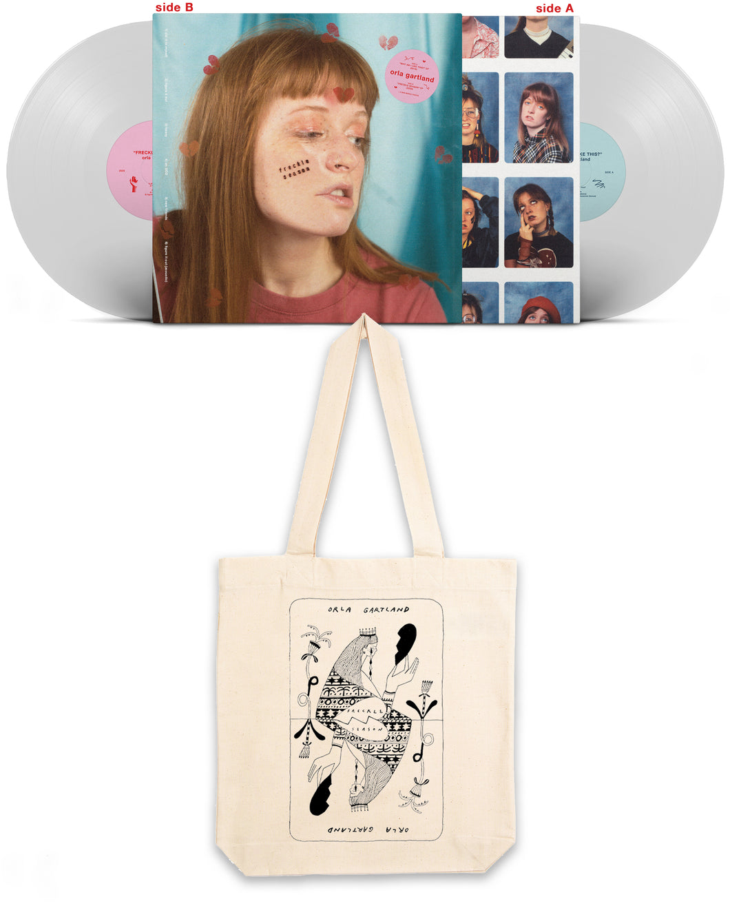 BUNDLE: vinyl + tote bag