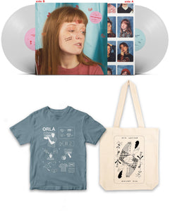 BUNDLE: vinyl + tote bag + t-shirt