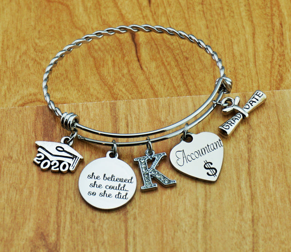 Accounting Graduation Gift Accountant Gift Accounting Jewelry Accounting Gifts College Graduation Gift Graduation Gift for Her Senior 2020