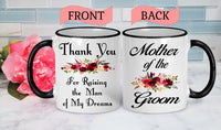 Mother of the Groom Mug Mother of the Groom Gift Mom of the Groom Gift for Mother of the Groom Mother of the Groom Coffee Mug Coffee Cup