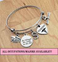 Psychiatrist Graduation Gift Psychiatry Gift Psychiatrist Gift Graduation Gift for Daughter Graduation Jewelry 2019 Graduation Bracelet