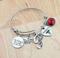 Psychiatrist Gift College Graduation Gift for Daughter Psychiatry Bangle for Her Sister Jewelry Best Friend Birthday Gifts Bangle Jewelry