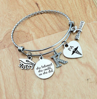 Physician Assistant Graduation Gift Inspirational Bracelet PA Gifts College Graduation Gift for Her Charm Bracelets for Women Senior 2019