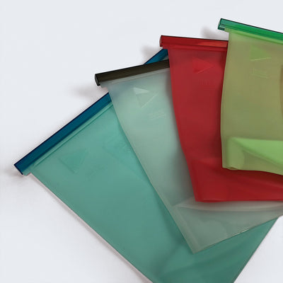 Bolsa Reutilizable de Silicona 4 Lts - Simple y Vivo