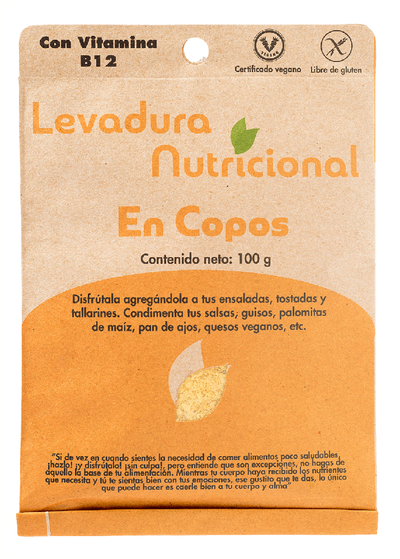 Levadura Nutricional 100g - Simple y Vivo