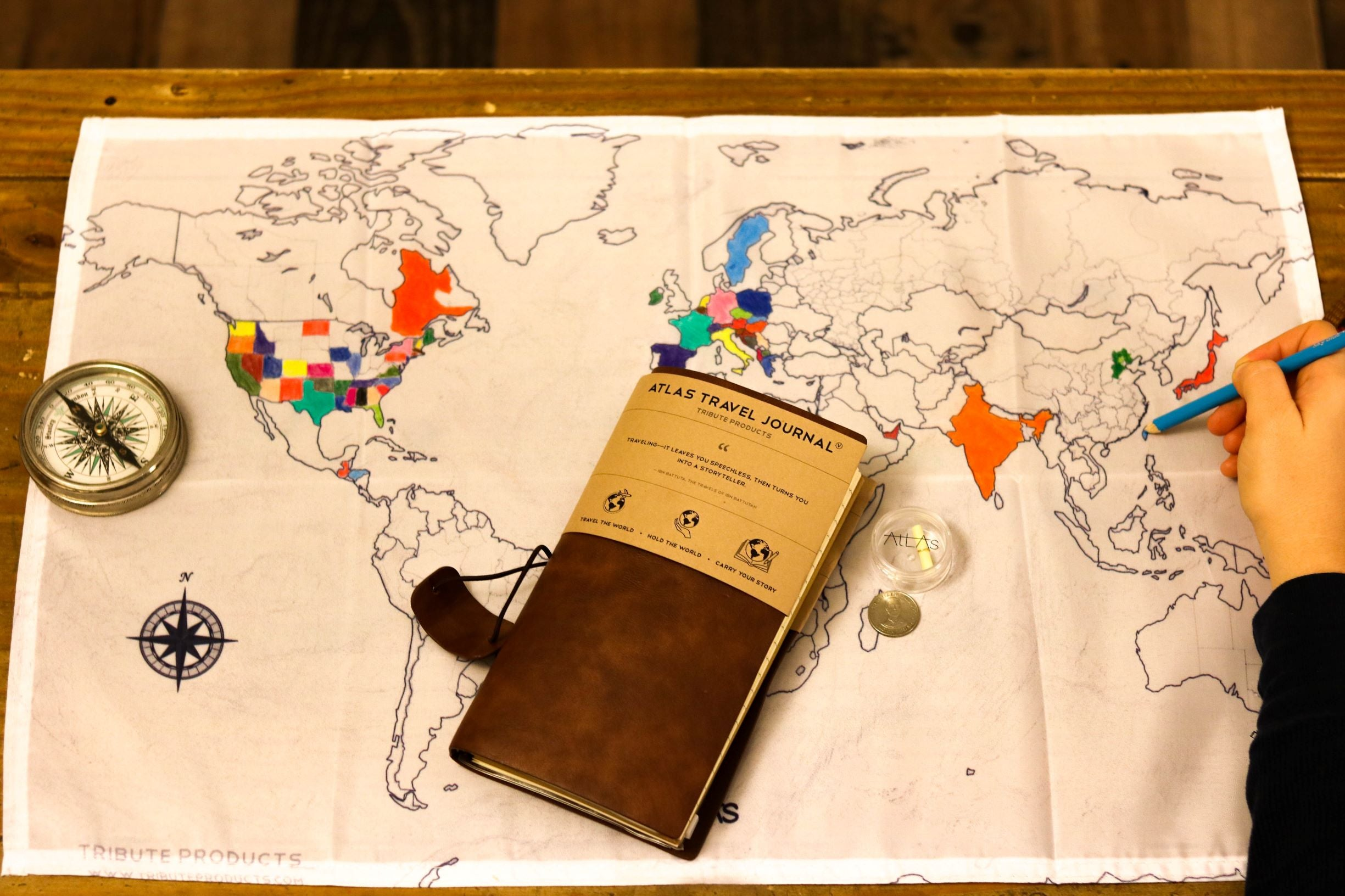 Atlas Travel Journal