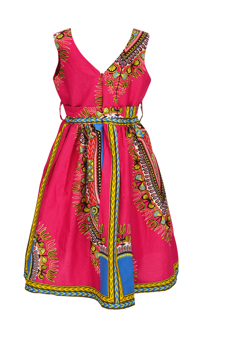 Osofi Dashiki dress for girls - yalinat
