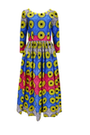 african print Ngateu maxi dress.
