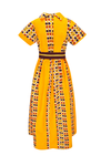 african print Socdjou maxi dress.