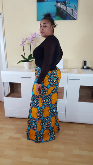 African Doga maxi skirt for women. - yalinat