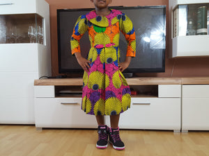 african SK07 Dress for Girl. - yalinat