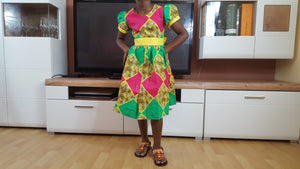 Marthe African Dresses for kids - yalinat