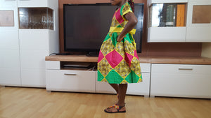 african Marthe Dress for Girl. - yalinat