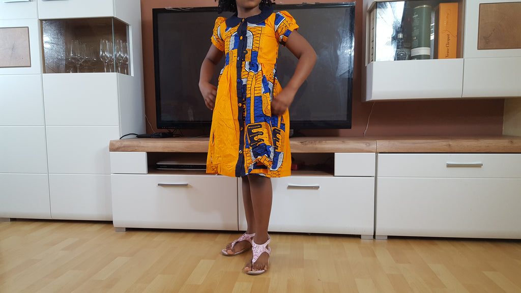Lakam1 african dresses for girls - yalinat