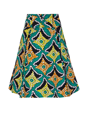 African TObbi Skirt for women| african midi skirt| african attire|