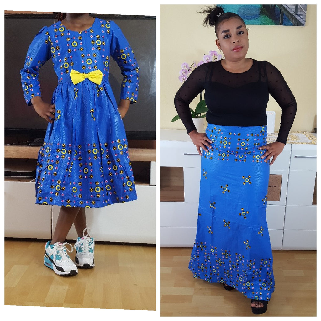 african  youbayou1 Dress for Girl, girl ankara dress, girl african dress. - yalinat