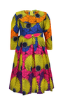 African Print Dresses for Girls - yalinat