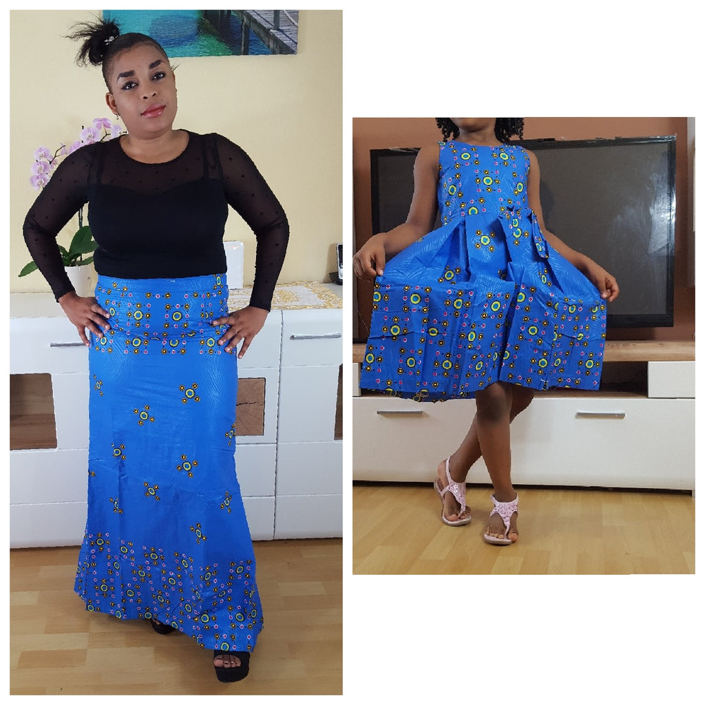 african  youbayou Dress for Girl, girl ankara dress, girl african dress. - yalinat