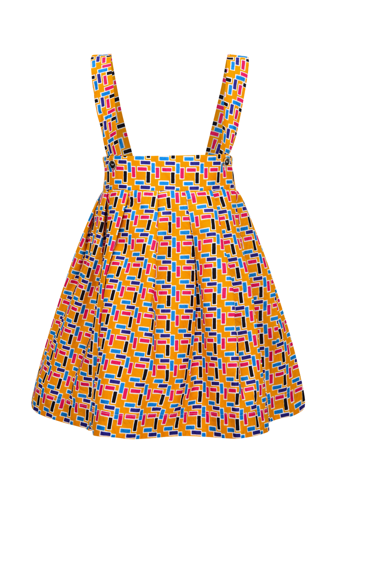 Sabina Africa Skirt for little girls, Africa Clothes, African Outfit