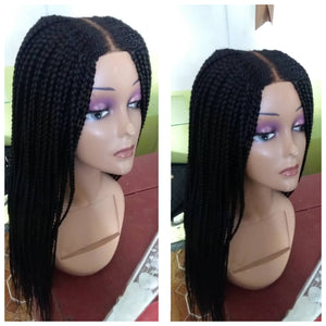 Ready to ship Braided Wig, Red-0002-H - yalinat