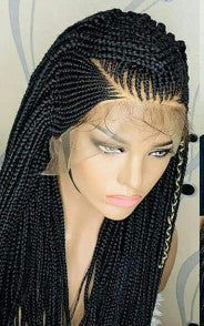frontal braided wig for ladies , BR-00053-L - yalinat