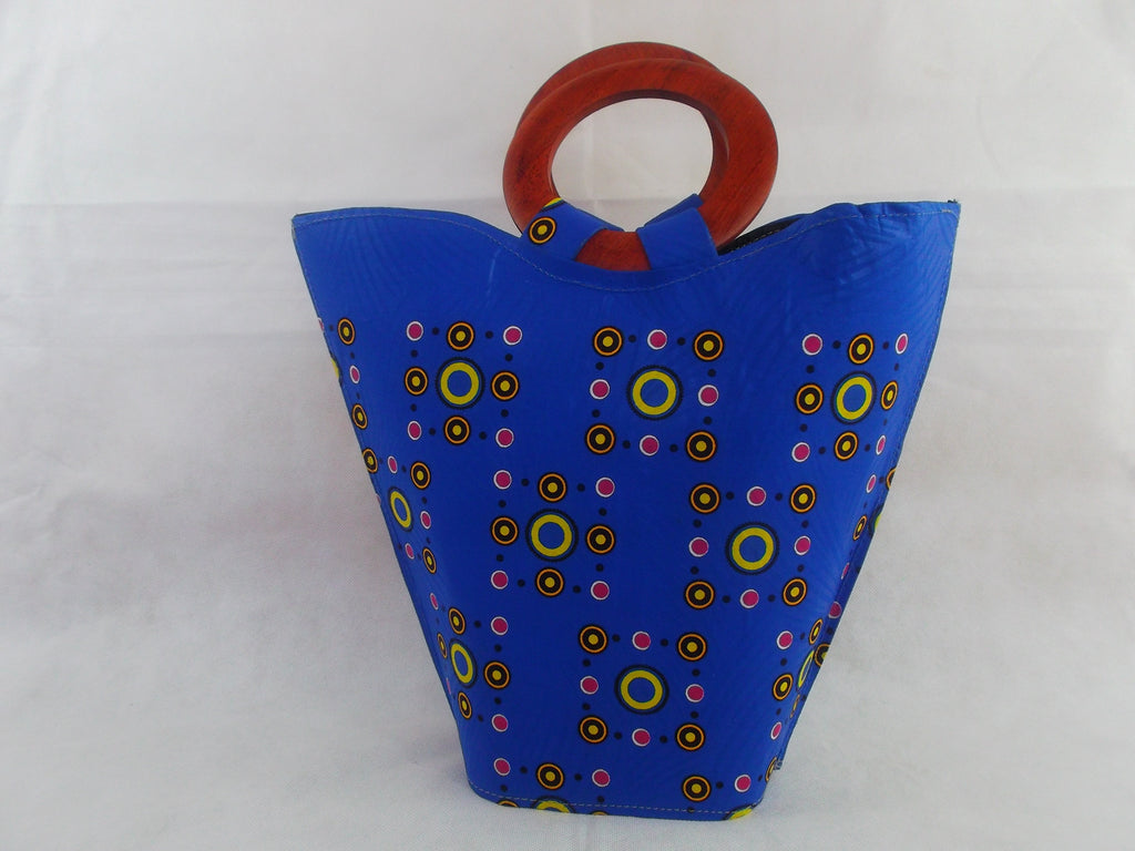 african print HB08 handbag for ladies. - yalinat