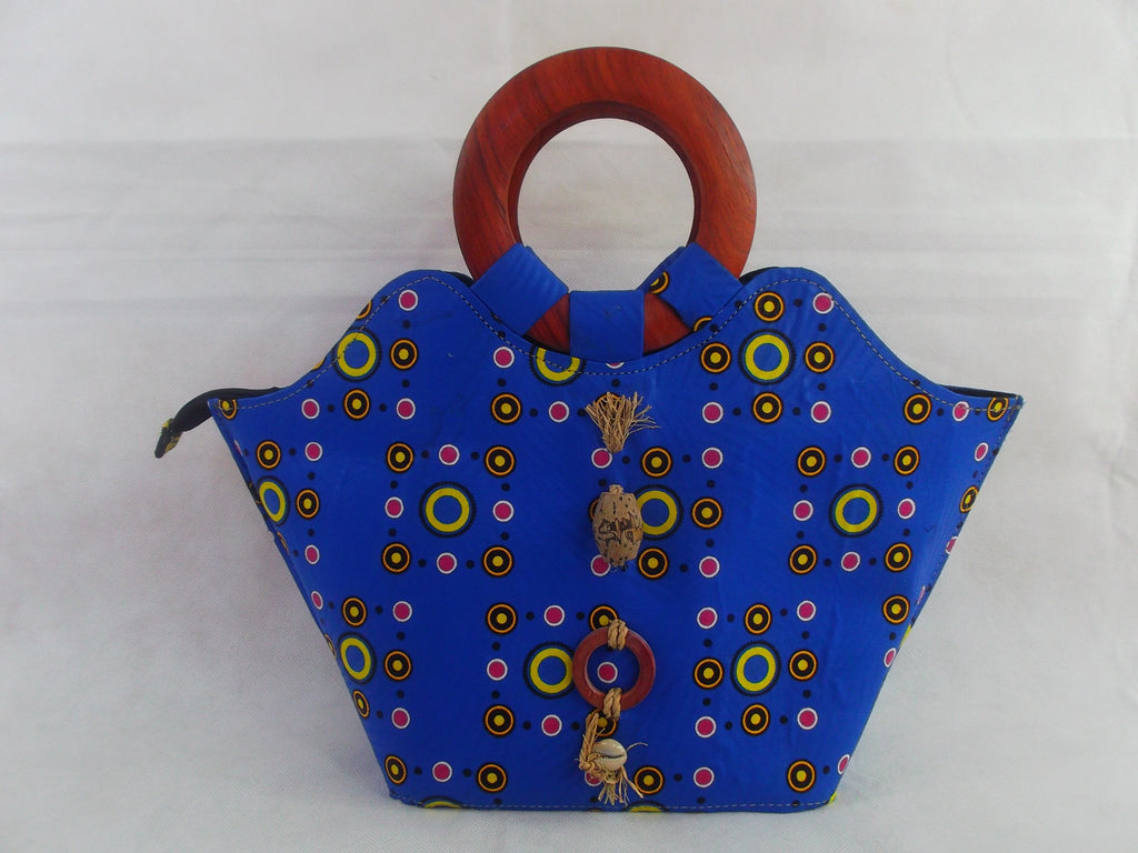african print HB06 handbag for ladies. - yalinat