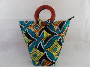 HB05 african print bags for women| african bags| african print fabric| - yalinat