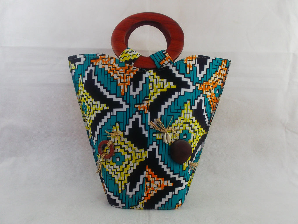 HB04 african print bags for women| african bags| african print fabric. - yalinat