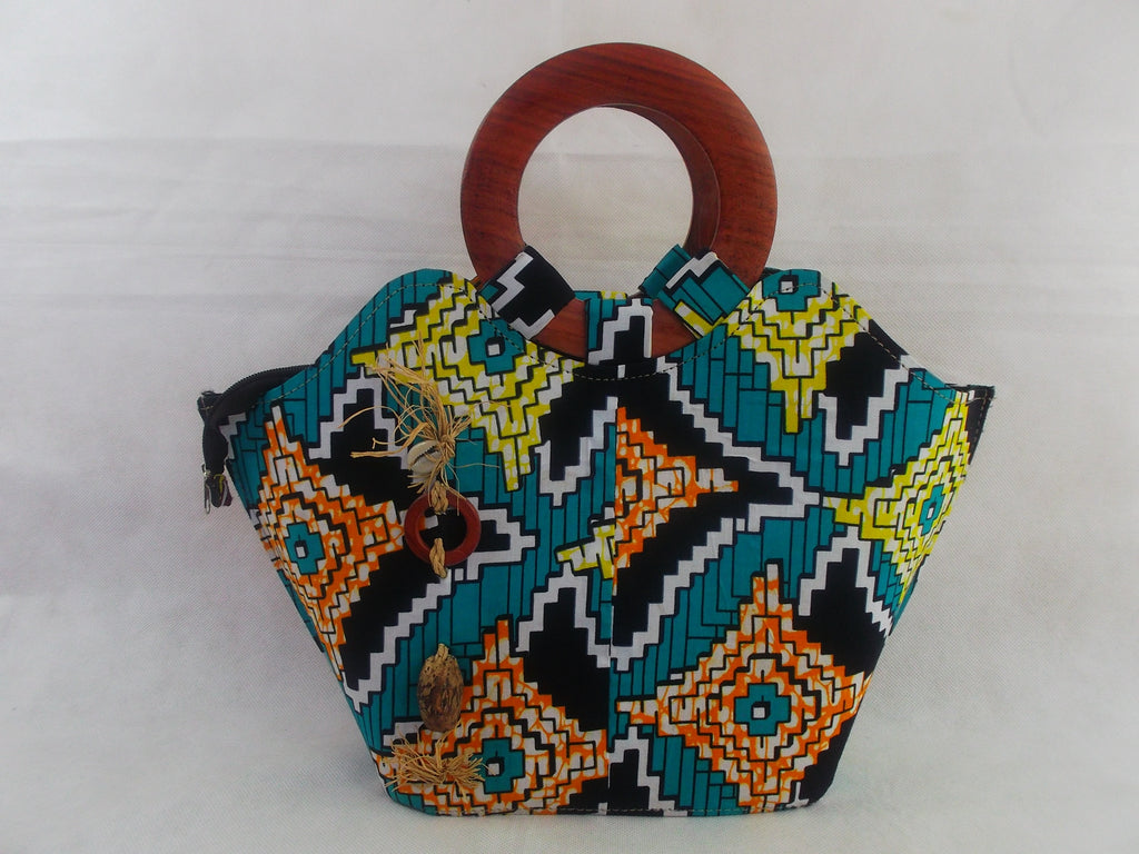 african print HB01 handbag for ladies. - yalinat