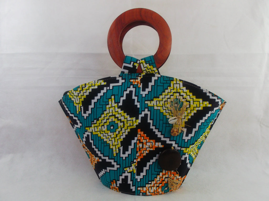 african print HB03 handbag for ladies. - yalinat