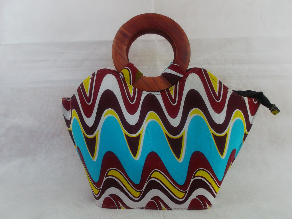 african print HB10 handbag for ladies. - yalinat