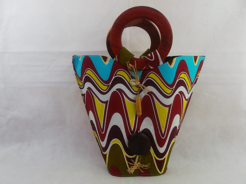 african print HB11 handbag for ladies. - yalinat