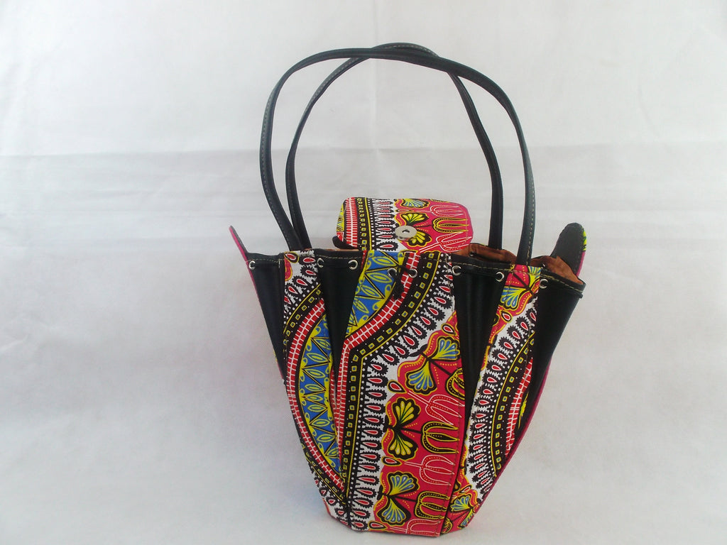 african print HB18 handbag for ladies. - yalinat