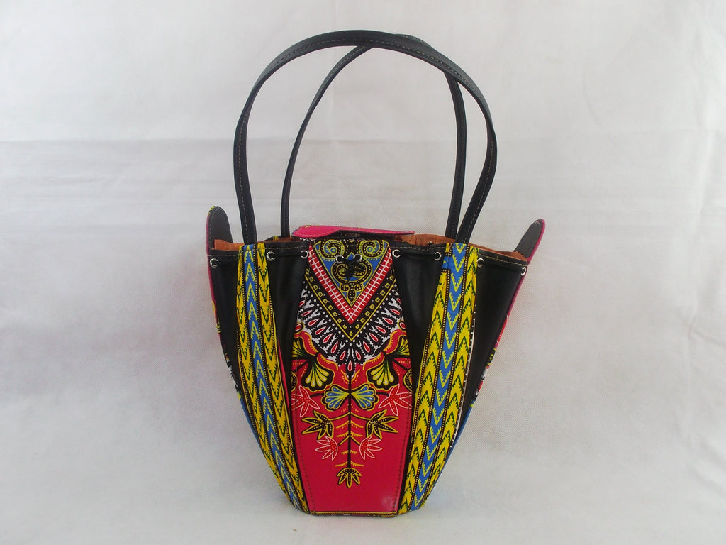african print HB17 handbag for ladies. - yalinat