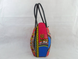Dashiki print HB16 handbag for ladies. - yalinat