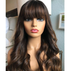 Brown Blonde 13x6 Lace Front Human Hair Wigs