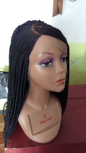 Ready to ship Braided Wig, Red-0003-H - yalinat