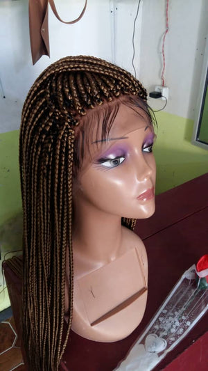 Ready to ship Braided Wig, Red-0001-H - yalinat