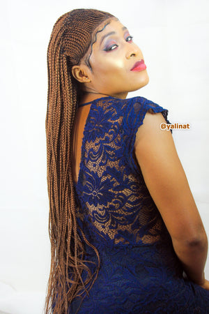 Nadia Ready to ship handmade Braided Wigs for women - yalinat