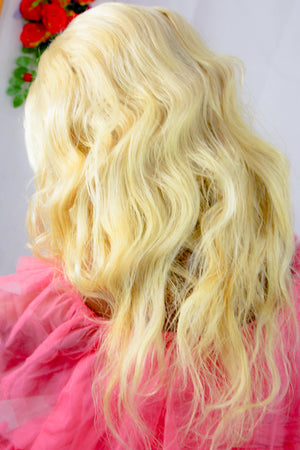 Blonde wig | Grade 10A Indian Human Hair For Women With Class |