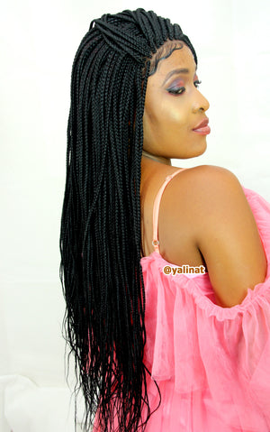 Magni Ready to ship Braided Wigs for women - yalinat