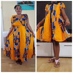 Lakam2 African Outfits for Girls - yalinat