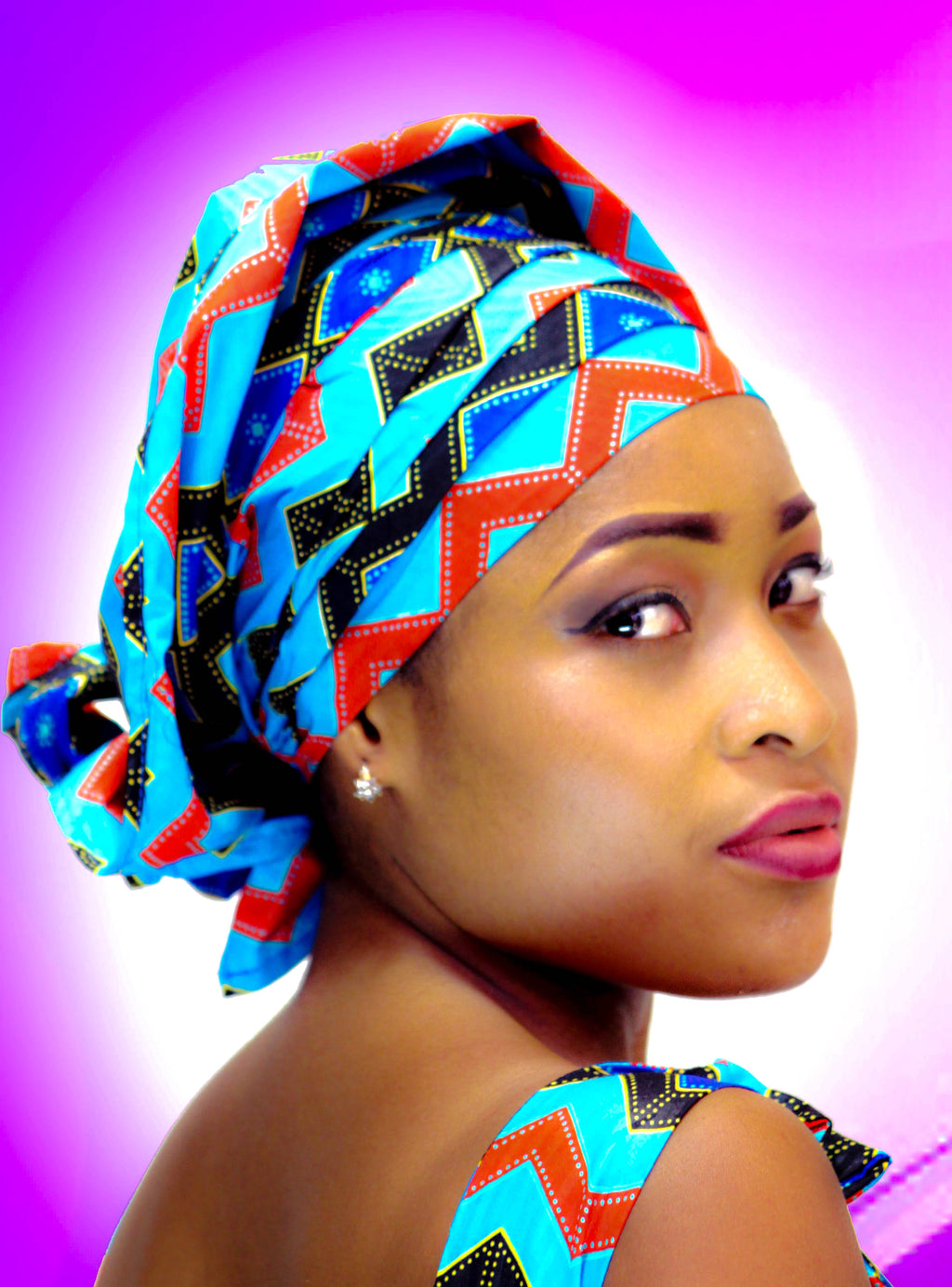 Bado african head wraps| african scarf| african head dress| - yalinat
