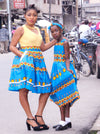 african Batie Dress for Girl. - yalinat