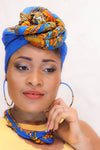 Patou dashiki head wraps| african scarf| african head wraps| Dashiki| - yalinat