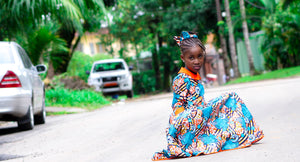 Momo african attire for kids - yalinat