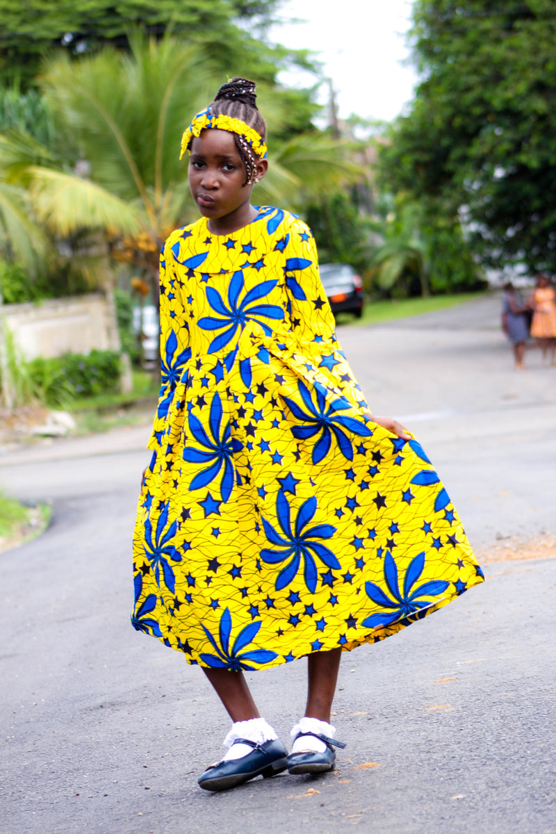 african SK27 Dress for Girl. - yalinat