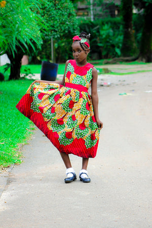 Pauli african clothing for girls - yalinat